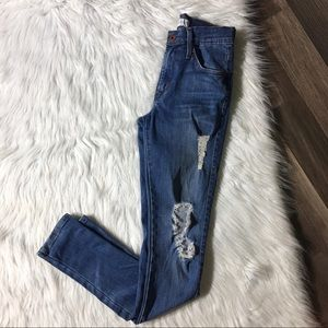 James Jeans Distressed James Twiggy Jeans